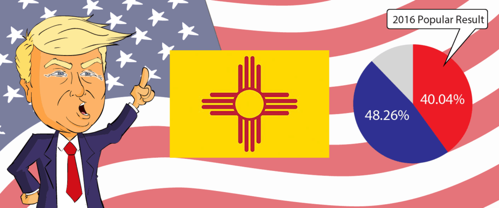 New Mexico for Trump 2020 - Buy Donald Trump Merchandise for New Mexico State