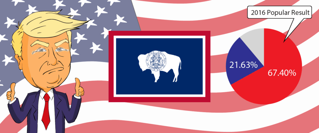 Wyoming for Trump 2020 - Buy Donald Trump Merchandise for Wyoming State