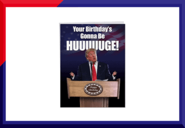 Buy Donald Trump Birthday Cards
