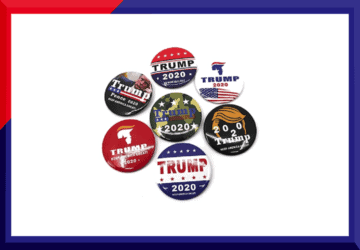 Buy Donald Trump Pin Badges and Buttons