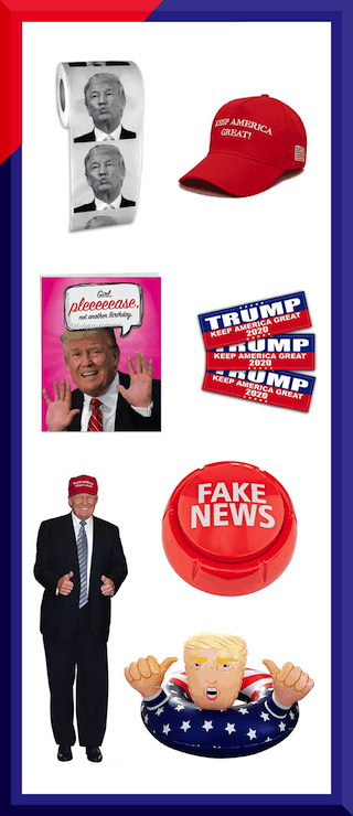 Get Your Products Featured on The Donald Store New