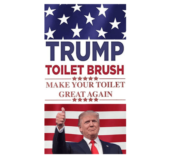 101_6 Donald Trump Toilet Brush