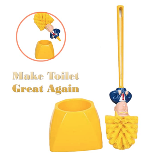 771_1 Trump Toilet Bowl Cleaner Scrubber Set