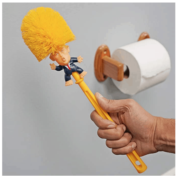 773_6 Donald Trump Toilet Brush