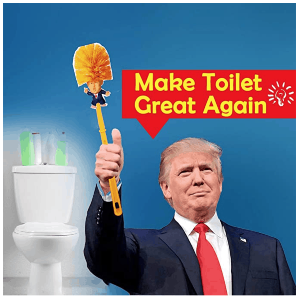 774_5 Donald Trump Toilet Brush