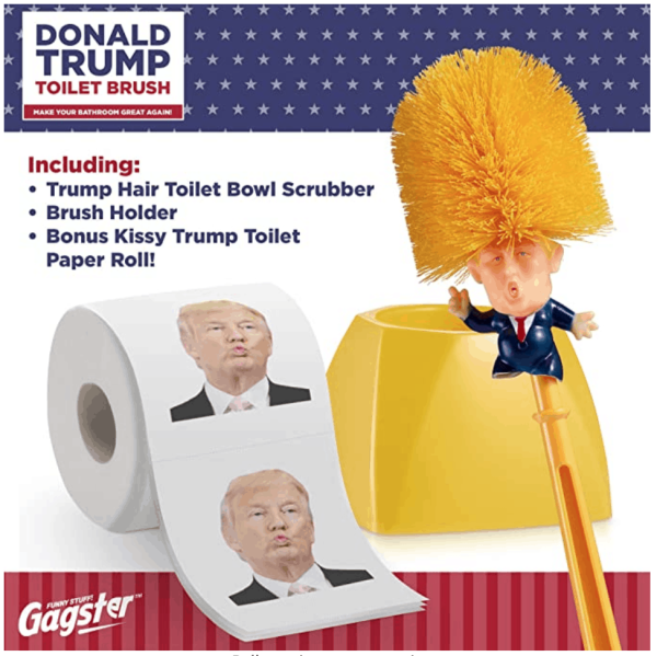 98_2 Donald Trump Toilet Brush