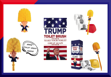 Buy Donald Trump Toilet Brush